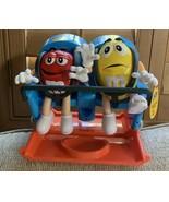 M&M's Amusement Park Ride Candy DISPENSER Chocolate Holder Great Christm... - $123.75