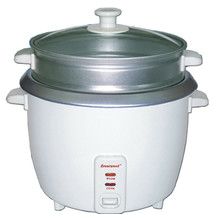 Brentwood 5 Cup Rice Cooker/Non-Stick with Steamer in White - $71.04