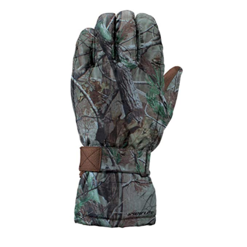 Sm Seirus Innovation Men's Heatwave Mountain Challenger Gloves Realtree Xtra
