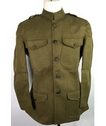 WWI US M1917 COMBAT FIELD TUNIC JACKET-XLARGE - $299.95