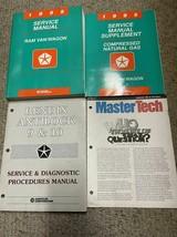 1995 Dodge RAM VAN WAGON Service Repair Shop Manual Set W Supplement +  - $79.19