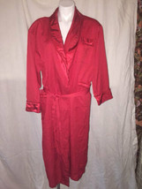 VICTORIA'S Secret Red Long Robe WOMEN'S Size XS SMALL S - $25.73