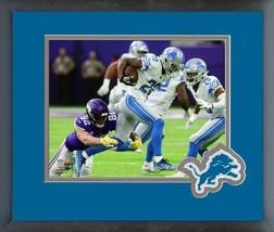 Darius Slay 2018 Detroit Lions Action -11x14 Team Logo Matted/Framed Photo - $888,58 MXN