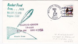 TAURUS-ORION ROCKET FIRED FROM NASA WALLOPS ISLAND VA DEC 2 1977 - $1.98