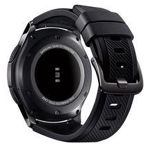 Samsung Gear S3 Frontier Smartwatch SM-R760 Bluetooth Ver. [Dark Gray] Displayed image 4