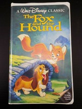The Fox and the Hound VHS 2041 Black Diamond Walt Disney Original Classi... - $9.89