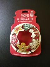 Yankee Candle Gingerbread Star Snowflake Tree Cookies Illuma Lid Topper ... - $38.56
