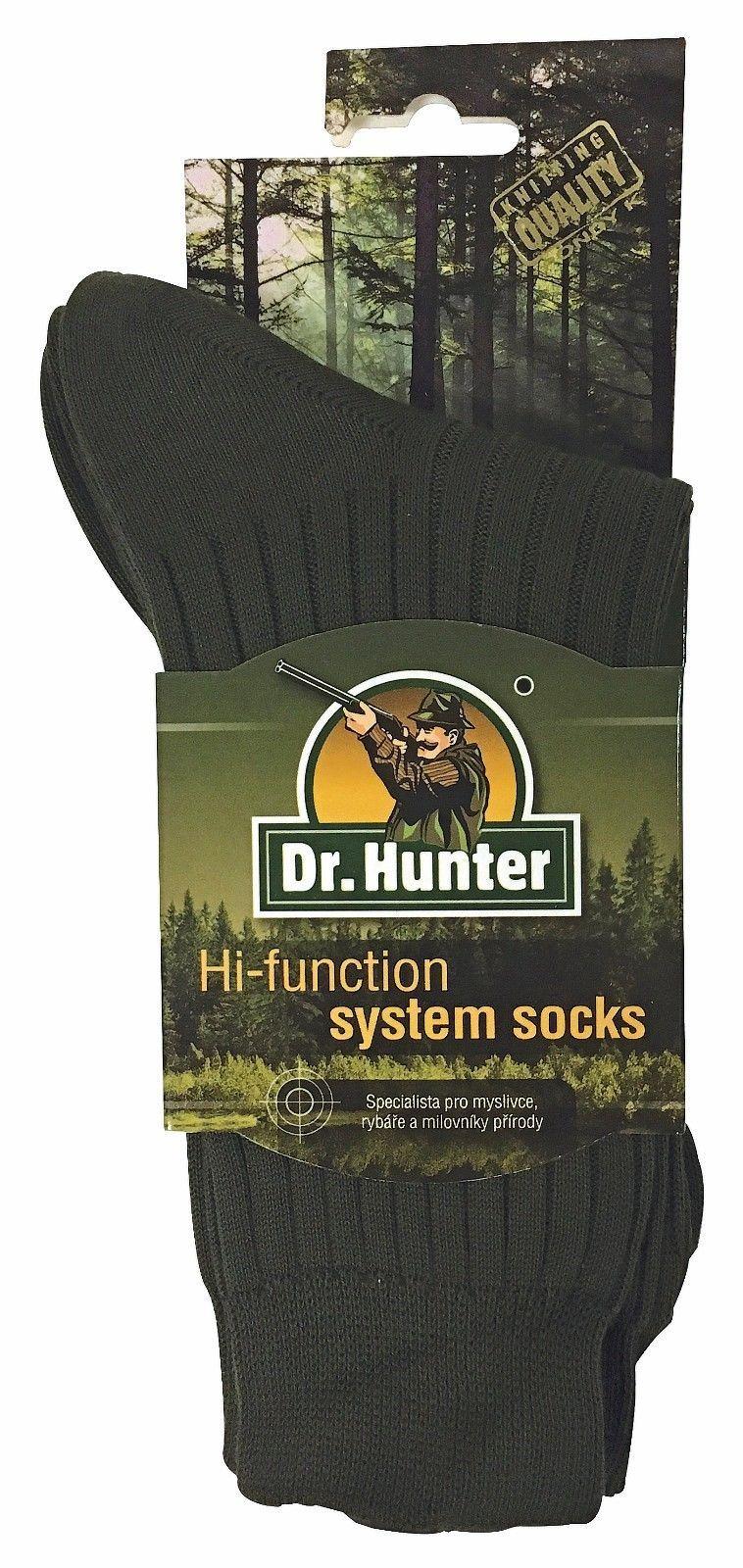 Dr Hunter - Uomo 100% Biologico Cotone Traspirante Escursionismo Calzini Calze