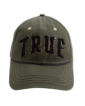 True Religion Men's Embroidered Chenille Logo Sports Hat Baseball Strapback Cap image 7
