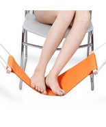 Feet Hammock Portable Foot Rest Office Stand Home Desk Travel Mini Relax... - €16,43 EUR+