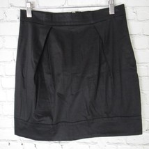 French Connection Skirt Womens Size 6 Black Career Casual - $18.32