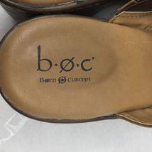 Size 10m Slip On Clog Brown O Sandals Women's B C wqfx60y1