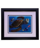 Finding Nemo Framed Surfer Dude Crush 11x14 Disney Commemorative Photo - $108.89