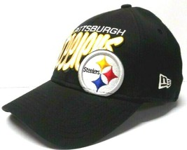 Pittsburgh Steelers Flex Fit Style Fitted Hat Mens SMALL/MEDIUM Made By New Era - $19.80