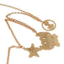 Necklace 70 cm, 925 Silver, Pendant Medusa Fish Crab Shell, le Favole image 4