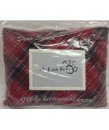 Holiday Pet Pillow With Photo Pocket DEAR SANTA Red NWT - $9.99