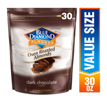 Blue Diamond Almonds Oven Roasted Cocoa / Dark Chocolate Dusted Almonds ... - $22.99