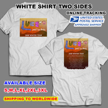 Lucero 2018 Winter Tour Nice Shirt,White Color,Sizes S-3XL Available Radio - $11.00+