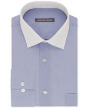 Geoffrey Beene Lapis Blue Regular Fit Long Sleeve Dress Shirt- 16 1/2- 3... - $21.95