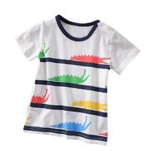 Boys T shirt Short Sleeve Cartoon Print - $17.99