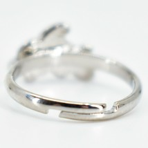 Kid's Fashion Silver Tone Dolphin Color Changing Fashion Adjustable Mood Ring image 2