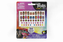 Trolls World Tour 50 Piece Sticker Activity Nail Stickers Set