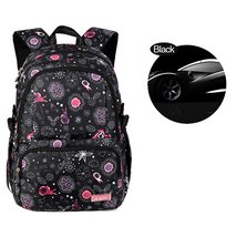 Backpack for Girls, Floral Print College Backpack Casual School Backpack for Tee - $29.99