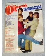 VINTAGE THE MONKEYS HEADQUARTERS MUSIC BOOK WITH PHOTO'S - $39.59