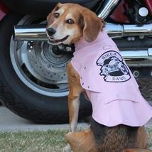 Biker Dawg Motorcycle Dog Jacket - Pink - $39.99+