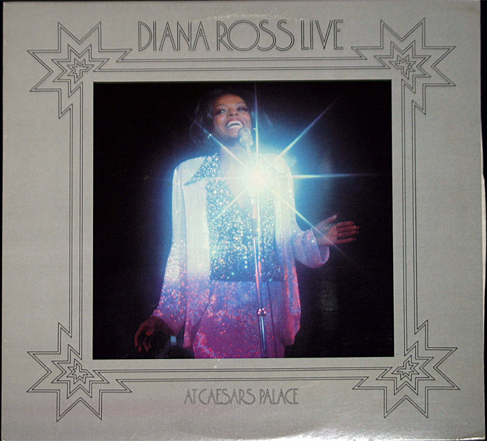Diana ross  caesars palace   cover