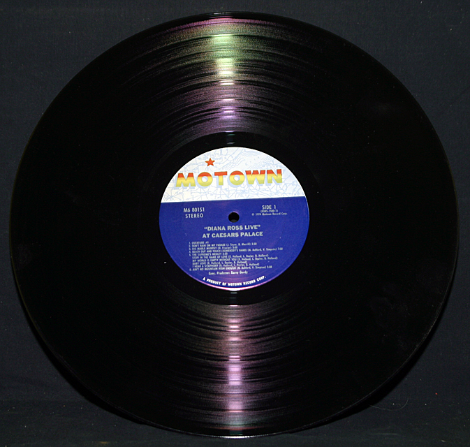 "Diana Ross   ""Live At Caesars Palace""  LP"