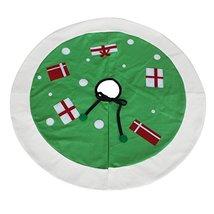 Modern Style Xmas Tree Skirt [Hope] Xmas Decor Ornament - $24.88