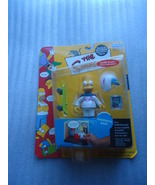The Simpsons Daredevil Bart Simpson action figure Series 8 Playmates Sealed - $13.00