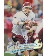 Jim Druckenmiller autographed Football Card (San Francisco 49ers) 1997 F... - $12.00