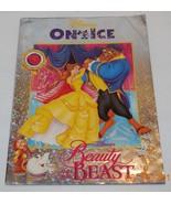 Disney On Ice Beauty And the Beast Program vintage Rare OOP - $44.55