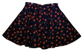 Plus Size Cherry Circle Skirt with pockets-Rockabilly/Retro/PinUp - $36.00