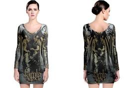 The Lamb Of God Long Sleeve Bodycon Dress - $28.99+