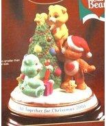 2003 CARE BEARS CHRISTMAS PORCELAIN FIGURINE - €21,14 EUR