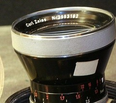 Carl Zeiss Pro-Tessar Lens f=35mm with fitted Zeiss Ikon Case AA-192030 Vintage