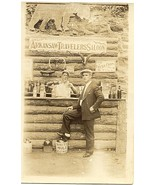 Arkansas Travelers Saloon Real Photo Post Card - $5.00