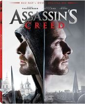 Assassin's Creed (2017) Blu-ray/DVD - $3.95