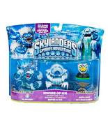 NIB Skylanders Spyro Adventure Pack EMPIRE OF ICE Slam Bam Anvil Rain Sk... - $49.99