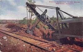Steam Shovel Stripping Overburden for Ore Mesaba Iron Range Minnesota po... - $7.87