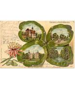 Gruss aus Ahrensburg Germany Vintage 1904 Post Card - $15.00