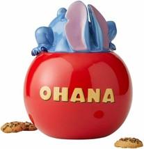 Disney Lilo & Stitch Movie Stitch Figure Ohana Ceramic Cookie Jar NEW UNUSED - $62.88
