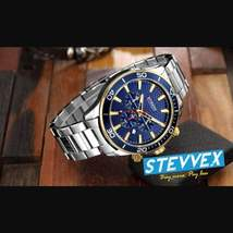 Luxury Modern Men's Metal Waterproof Curren Watch With Chronometers - $74.00