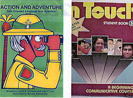 (2)ACTION & ADVENTURE + IN TOUCH-LANGUAGE ARTS ACTIVITIES - $24.99