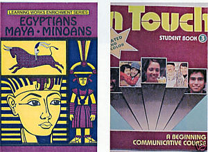 (2) EGYPTIANS MAYA MINOANS+ IN TOUCH ACTIVITY BOOKS