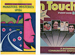 (2) MONSTERS MYSTERIES UFOs + IN TOUCH=(2) ACTIVITY BOOKS