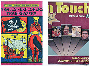 (2) PIRATES EXPLORERS TRAILBLAZERS +IN TOUCH ACTIVITY BOOKS